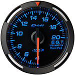 Defi 52mm Blue Racer Exh. Gas Temp. Gauge