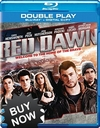 Red Dawn Blu-ray Movie + Digital Copy (NO DVD)