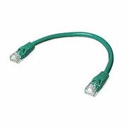 1ft of cat 5 Enhanced Cross-over Cable, Booted - click to enlarge