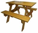 Cedar Children's Picnic Table