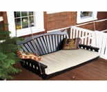 5' Fan Back Swing Bed