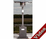 Square Mocha Finish Patio Heater