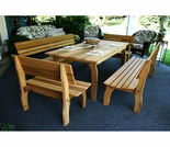 Cedar Chickadee Dining Set