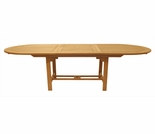 Teak Oval Expansion Tables - 3 Sizes