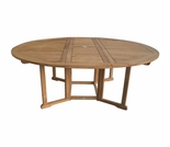 Teak Drop Leaf Table - 2 Sizes - 5' Only Out of Stock til Aug