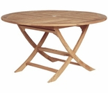 "Sailor Teak Semi-Folding Teak Tables - 2 Sizes - 47"" Only Out of Stock til Aug"