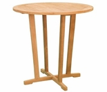 "Teak Charles 36"" Bar Table - Out of Stock til Sept"