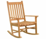 Teak Terrace Rocking Chair