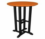 "POLYWOOD� Contempo 24"" Round Bar Height Table"