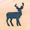 Door Mat:  Deer