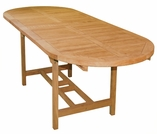 Teak Kingston Double Extension Table - 2 Sizes