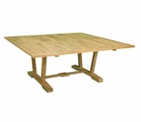 "Teak Hestercombe 60"" Square Dining Table - Out of Stock til Nov"