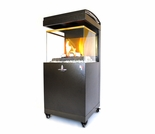 Lava Heat Pandora Y5 Flame Outdoor Fireplace - Natural Gas Option