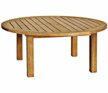 "Canterbury Teak 36"" Round Coffee Table"