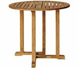 "Oxford Teak 36"" Round Bar Table"