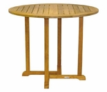 "Oxford Teak 42"" Round Bar Table"