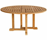 "Oxford Teak 48"" Round Dining Table"