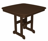 "POLYWOOD� Nautical 37"" Dining Table"