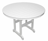 POLYWOOD� 48 inch Round Dining Table
