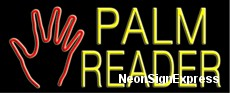 Neon Sign - PALM READER