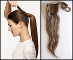 Human Hair Wrap Around Pony Tail Hairpiece