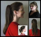 Sigrid � Clip-On Ponytail Hair