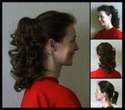 Dawn Clip on Ponytail Synthetic Hair