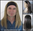Rick Headband Synthetic Wig