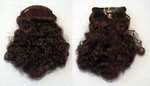 Clearance Mahogany Auburn Hairpiece on a Braided Comb