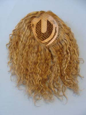 Human Hair Pull Through Hair Pieces 56