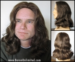 New Jesus or Hippy Synthetic Wig
