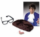 Austin Powers Teeth, Wig, Glasses