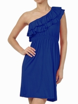 NEW! Zoey Short One Shoulder Maternity Dress
