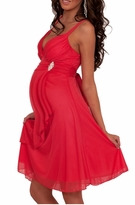 Stylish Kate Empire Waist Maternity Cocktail Evening Dress
