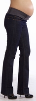 New! Maternal America 5 Pocket Dark Blue Designer Maternity Denim