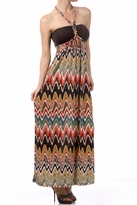 NEW! Stylish Printed Maternity Maxi Dress