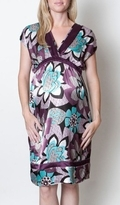 NEW! Everly Grey Crushed Violets Mia Maternity Dress - more colors