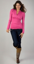 NEW! Megan Ruched Long Sleeve Maternity Top