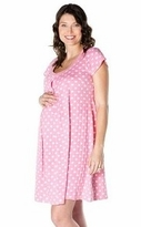 Molly Pink Maternity / Nursing NIghtgown