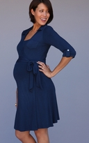 Mayreau Paige Wrap Maternity Nursing Dress