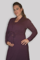 Stylish Tie Front Maternity/Nursing Dual Dress