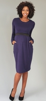 NEW! Mayreau Maternity/Nursing Long Sleeve Dress