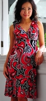 Carmen Wrap Maternity and Nursing Dress - Also in Black