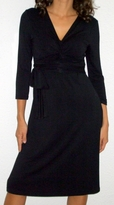 Giselle Black Maternity /Nursing Dress (Sizes S - 3X)