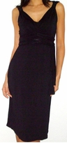 Elle Black Tie Front Maternity Dress/ Nursing Dress - also in Maroon!