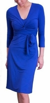 Giselle Royal Blue Maternity / Nursing Dress (Sizes S -3X)