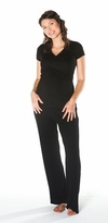 Estelle Black Maternity / Nursing Lounge Set