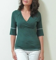 NEW! Bamboo Surplice Raglan Maternity/Nursing Top - more colors!