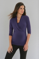 HOT!! Mia 3/4 Sleeve Maternity/Nursing Top  *more colors