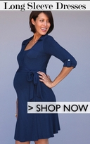 Long Sleeve Maternity Dresses
